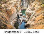 bourke's luck potholes  ... | Shutterstock . vector #385676251