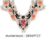 collar design | Shutterstock .eps vector #38569717
