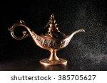genie in a bottle  | Shutterstock . vector #385705627