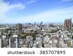 tokyo city   Shutterstock . vector #385707895