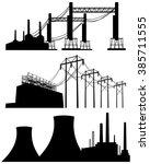 vector illustration of a three... | Shutterstock .eps vector #385711555