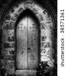 Gothic Doorway To St Simeon...