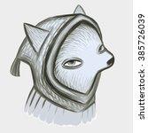 grey wolf | Shutterstock .eps vector #385726039