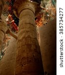 Photo Montage Of Columns In The ...