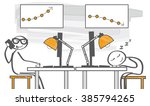 busy and lazy   motivated and...   Shutterstock .eps vector #385794265