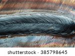 welding seam onto steel sheet... | Shutterstock . vector #385798645