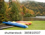 Colorful Kayaks Competing With...