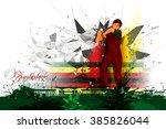easy to edit vector... | Shutterstock .eps vector #385826044