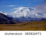 Mount Mckinley In Denali...