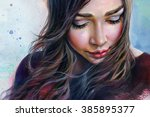 Colorful Watercolor Painting O...