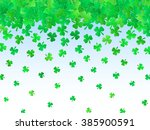 patricks day background. irish... | Shutterstock .eps vector #385900591
