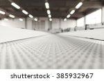 conveyer belt close up | Shutterstock . vector #385932967