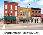 Small Town Usa Downtown Main...