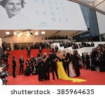 cannes  france   may 14  2015 ...   Shutterstock . vector #385964635