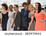 Small photo of CANNES, FRANCE - MAY 13, 2015: Jury members Joel Coen & Ethan Coen & Rokia Traore & Sienna Miller & Rossy De Palma at photocall for the Cannes Jury at the 68th Festival de Cannes.