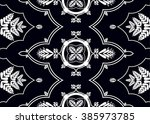 geometric ethnic oriental... | Shutterstock .eps vector #385973785