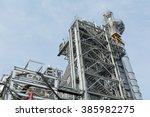 steam power and small electric... | Shutterstock . vector #385982275