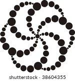 abstract crop circle design 3 | Shutterstock . vector #38604355