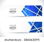 website header or banner set.... | Shutterstock .eps vector #386063095