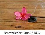A Pink Frangipani Flower...