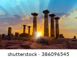 Ruined Athena Temple In Assos ...