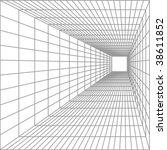 vector perspective lines | Shutterstock .eps vector #38611852