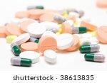 pile of medicine pills