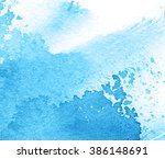 gray watercolor ink splatter... | Shutterstock . vector #386148691