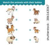 matching game for children ...   Shutterstock .eps vector #386163067