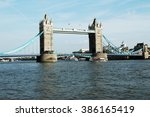 Tower Bridge On A Sunny Day In...