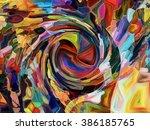hide and seek series.... | Shutterstock . vector #386185765