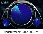 abstract background. radar...