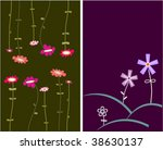 collection funny floral... | Shutterstock .eps vector #38630137
