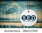 seo search engine optimization | Shutterstock . vector #386311969