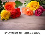 Roses. Bouquet Of Flowers....