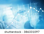 stock market investment trading ... | Shutterstock . vector #386331097