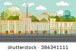 city   Shutterstock .eps vector #386341111