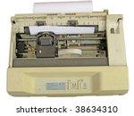 Old Dirty Dot Matrix Printer ...