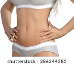 body contour shaping and... | Shutterstock . vector #386344285