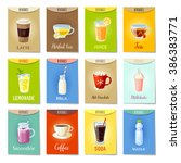 set of ad cards banners tags... | Shutterstock .eps vector #386383771