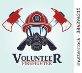 Firefighter Emblems  Labels ...