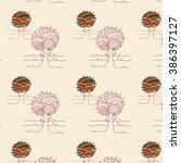 tree pattern | Shutterstock .eps vector #386397127