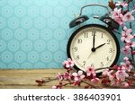 spring time change background | Shutterstock . vector #386403901