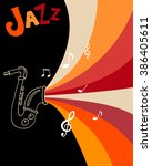 ������, ������: Jazz festival poster template
