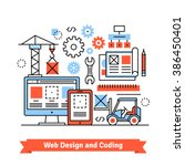 web and mobile app designing...