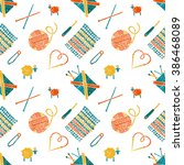 Vector Seamless Pattern On A...