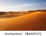 Sand Dunes In The Sahara...