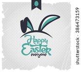 Happy Easter Eps 10 Vector....