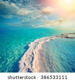 the path from the evaporated... | Shutterstock . vector #386533111