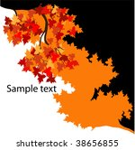 vector autumn leaves | Shutterstock .eps vector #38656855
